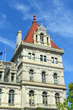 New York State Capitol, Albany, NY, USA. New York State Capitol, Albany, New York, USA. This building was built with Romanesque Revival and Neo-Renaissance style Stock Images