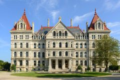 New York State Capitol, Albany, NY, USA Stock Photos