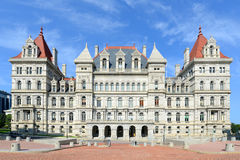 New York State Capitol, Albany, NY, USA. New York State Capitol, Albany, New York, USA. This building was built with Romanesque Revival and Neo-Renaissance style Royalty Free Stock Image