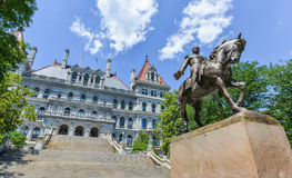 New York State Capitol Building, Albany Stock Images