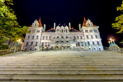 The New York State Capitol Building Stock Photo