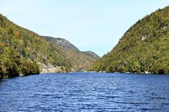 New york state  cascade  lakes  essex county Royalty Free Stock Photography