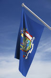 New York state flag Stock Images
