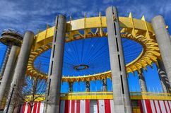 New York State Pavilion - Flushing, Queens, NY Stock Image