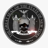New York State Seal Royalty Free Stock Images