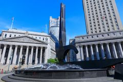 New York State Supreme Court Building in Manhattan, NYC Stock Photos