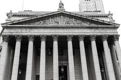 New York State Supreme Court Building royalty free stock photos