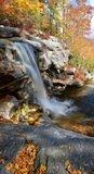 New York State Waterfall In Autumn Royalty Free Stock Images