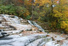 New York State Waterfall Staircase stock photography