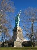New York: Statua di libertà, un simbolo americano immagini stock libere da diritti