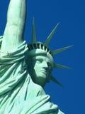 New York: Statua di libertà, un simbolo americano fotografie stock