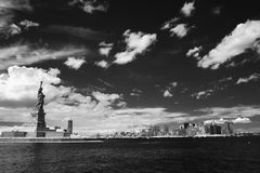 New York and  Statue of liberty Stock Images