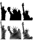 New york statue liberty Stock Image