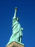 New York: Statue of Liberty, an American symbol Royalty Free Stock Photo