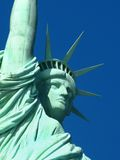 New York: Statue of Liberty, an American symbol Stock Photos