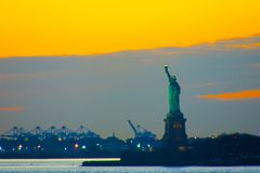 New York statue of Liberty royalty free stock photo