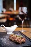 New York steak Stock Photos