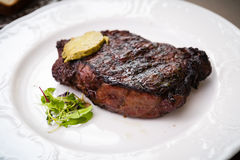 New York steak Royalty Free Stock Images