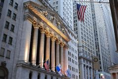 New York Stock Exchange. The New York Stock exchange in New York City. October 13, 2010 Stock Photo