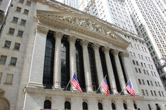 New York Stock Exchange, NYC, USA Royalty Free Stock Photos