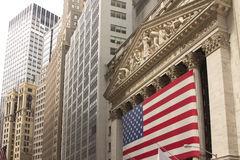 The New York Stock Exchange Royalty Free Stock Photos