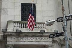 New York Stock Exchange immagine stock libera da diritti