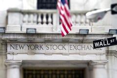 New York Stock Exchange Fotografia Stock