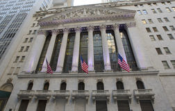 New York Stock Exchange Imagem de Stock