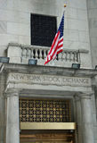 New York Stock Exchange. The entrance to the New York Stock Exchange Stock Photo
