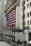 New York Stock Exchange. Building of the New York Stock Exchange Royalty Free Stock Images
