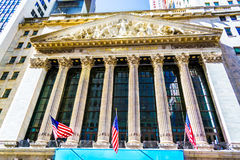 New York Stock Exchange building Royalty Free Stock Photography