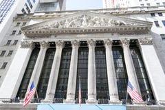 New York Stock Exchange building Royalty Free Stock Photos