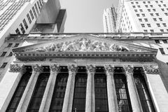 New York Stock Exchange building Royalty Free Stock Image