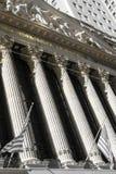 New York Stock Exchange building Stock Photos