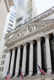 New York Stock Exchange Building, Manhattan Stock Photography
