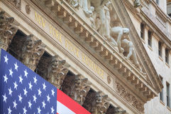 New York Stock Exchange building in New York Royalty Free Stock Photography