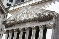 New York Stock Exchange building Royalty Free Stock Photo