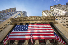 The New York Stock Exchange Royalty Free Stock Photography