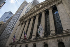 The New york Stock Exchange. Royalty Free Stock Photos