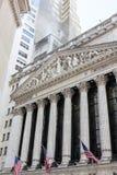 New York Stock Exchange-de Bouw, Manhattan stock fotografie