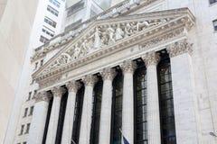 New York Stock Exchange-de Bouw, Manhattan royalty-vrije stock fotografie