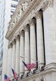 New York Stock Exchange-de Bouw, Manhattan royalty-vrije stock afbeeldingen