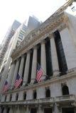 New York Stock Exchange em Manhattan Foto de Stock Royalty Free