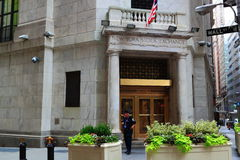 New York Stock Exchange Gate Stock Photography
