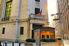 New York stock exchange is known as symbol of capitalism Royalty Free Stock Photo