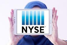 New York Stock Exchange, logo di NYSE fotografie stock libere da diritti