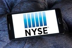 New York Stock Exchange, logo di NYSE fotografia stock libera da diritti