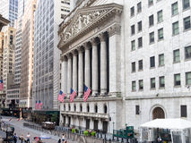 New York Stock Exchange in Manhattan Lizenzfreies Stockfoto