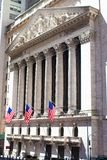 New York Stock Exchange in Manhattan Finance Stock Photos