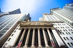 New York Stock Exchange in Manhattan Finance Royalty Free Stock Photo